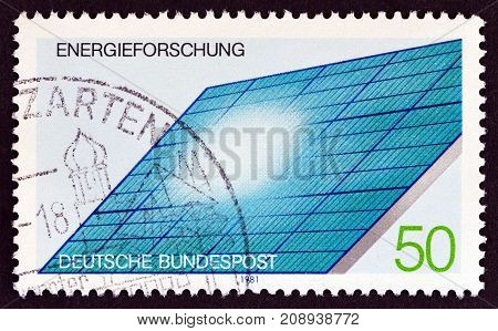 GERMANY - CIRCA 1981: A stamp printed in Germany from the
