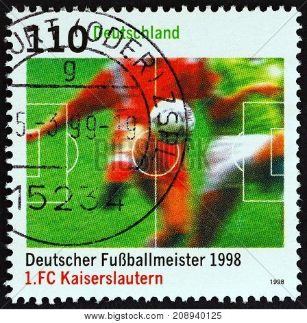 GERMANY - CIRCA 1998: A stamp printed in Germany from the