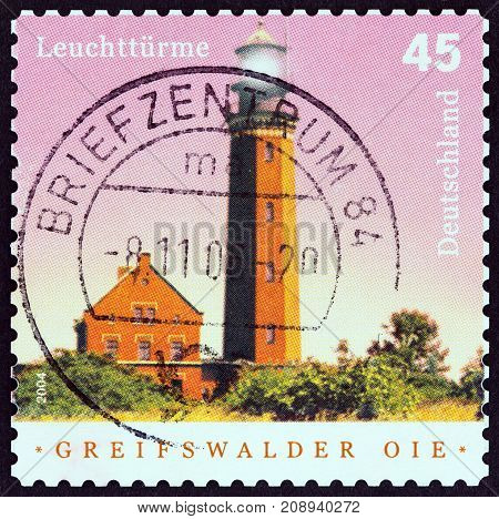 GERMANY - CIRCA 2004: A stamp printed in Germany from the