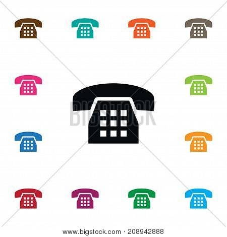 Call Vector Element Can Be Used For Call, Phone, Dial Design Concept.  Isolated Dial Icon.