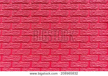 Wall Red Brick Background