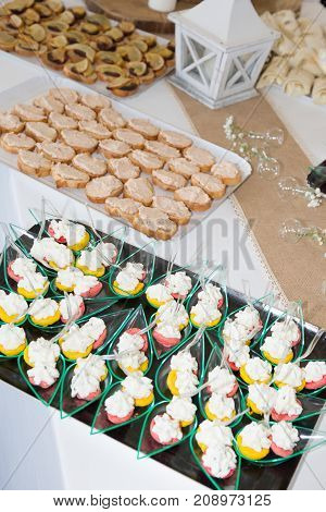 Appetizer Finger Foods For Wedding Ceremony Buffet