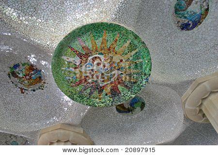 Park Guell - Gaudi Mosaic