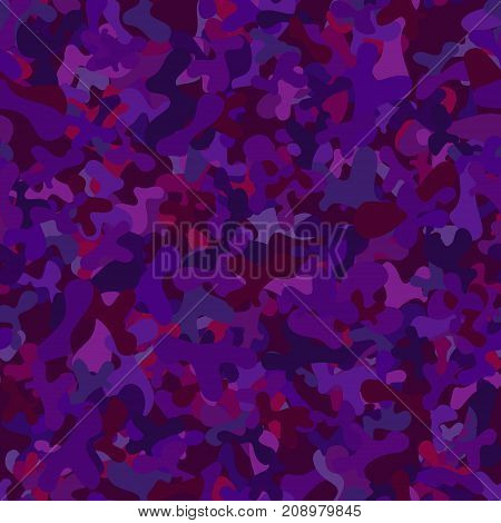 abstract vector chaotic spotted seamless pattern - purple and violet