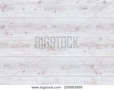 White wood is painted white. Background texture of boards and wood on the surface made of gray panels. Wooden table the surface of a blank background for design painted floor