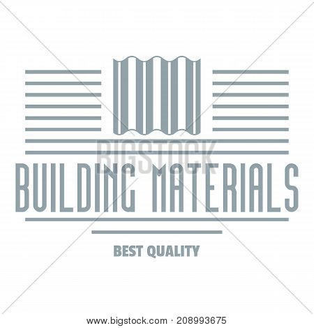 Best quality logo. Gray monochrome illustration of best quality vector logo for web