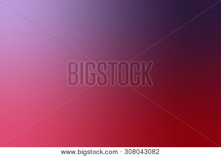 Abstract Gradient, Colorful Template For Banner Or Branding