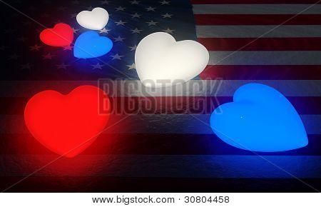 Glowing Patriotism