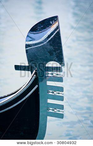 Gondolas Moored At Bacino Orseolo In Venice