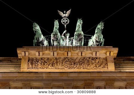 Victoria and the Quadriga on the Brandenburger Tor
