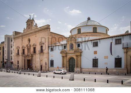 Murcia, Spain - May 11, 2009: View Of Murcia, Spain. Murcia Is A City In South-eastern Spain, And Th