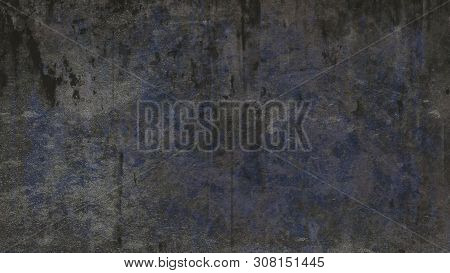 Dirty Gritty Grunge Ominous Texture Background - For Web Templates And Presentation Purposes