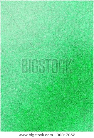 Green Textured Material