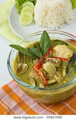 Thai Food, Green Curry
