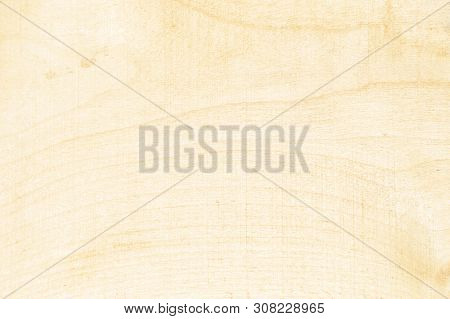 Texture Natural Light Wood. Solid Wood Texture Is One Board. Spruce Tree Background Close Up.