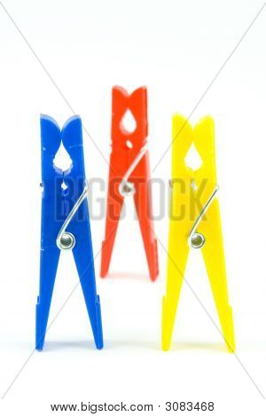 Colour Clothes-Peg