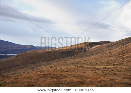 Idyllic Landscape Near Stac Pollaidh