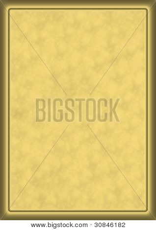 Beige background with frame for your text