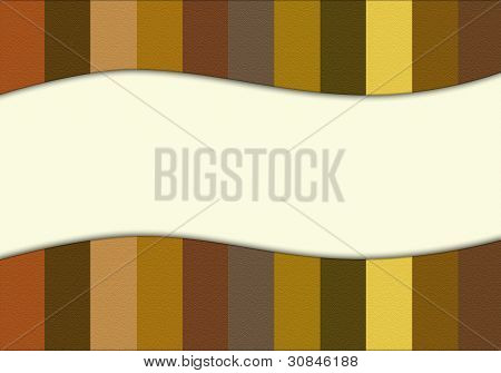 Striped background. Your text