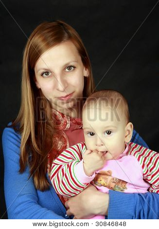 woman with the child