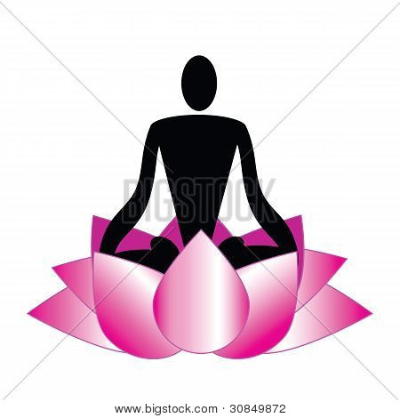 Logo, Meditation, Yoga, Spa
