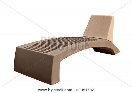 Stone Bench-chaise