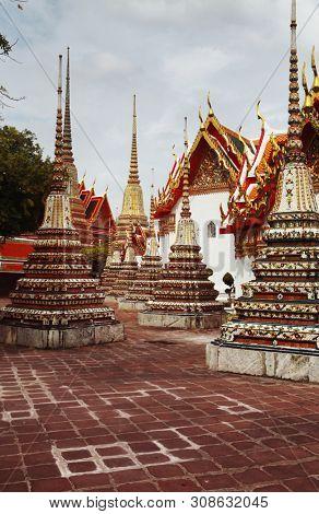 Bangkok's most famous landmark was built 1782. Wat Phra Kaeo
