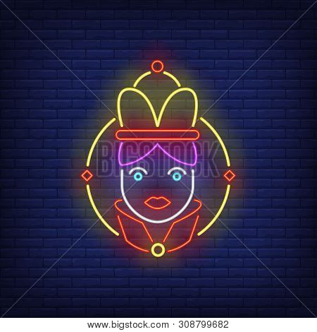 Empress Neon Sign. Authority, Power Design. Night Bright Neon Sign, Colorful Billboard, Light Banner