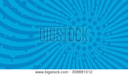 Blue Spiral Background. Spiral Color Red For Background. Blue Vector Background. Blue Spiral Backgro