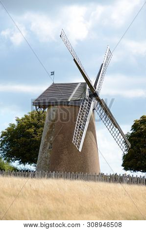 The Bembridge Windmill, Isle Of Wight Is The Only Windmill Left On The Island