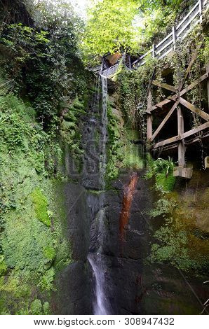 The Waterfall At Shanklin Chine, Isle Of Wight
