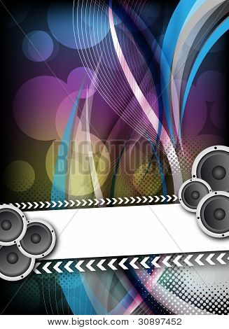 Abstract Colorful Party Design