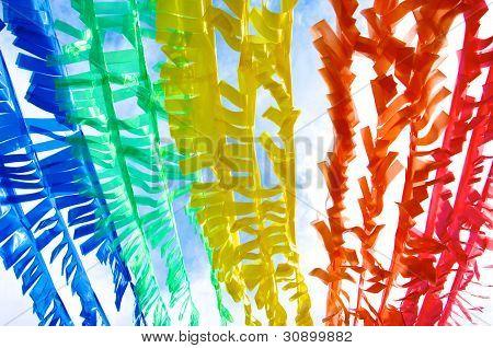 Colorful Plastic Strip