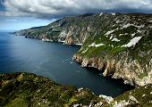 Cliffs of Slieve in the West of Ireland poster