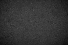 Art Black Concrete Stone Texture For Background In Black.