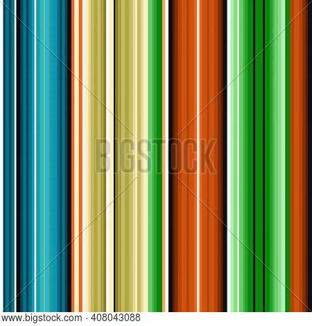 Serape Seamless Pattern Of Multicolored Stripes In Mexicserape Seamless Pattern Of Multicolored Stri