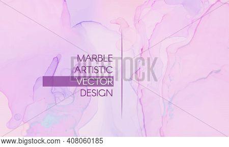 Pink Elegant Background. Liquid Marble Paper. Graphic Pastel Paint. Ink Invitation. Chic Elegant Bac
