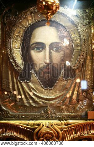 Icon Of Savior Made Without Hand