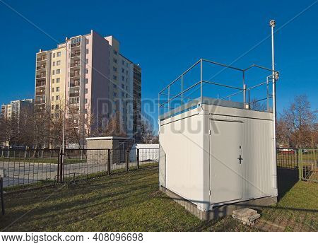 The Pollution Detector Station Of The Chief Inspector Of Environmental Protection, Warsaw, Poland