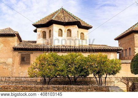 View Of The Sala De Los Abencerrajes In The Alhambra