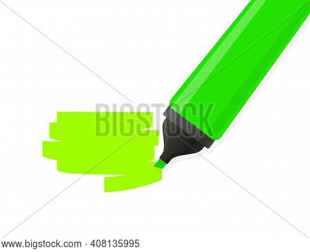 Text Highlighter Area, Great Design For Any Purposes. Vector Abstract Background. Realistic Vector.