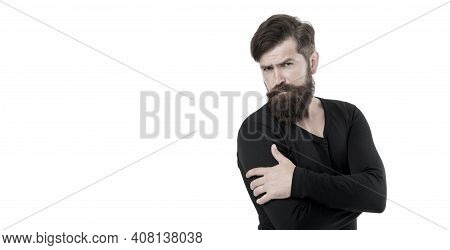 Hairdresser Salon. Individual Beard Styles. Maximum Length You Can Genetically Grow. Caucasian Guy L