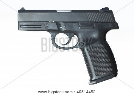 Gun isolated with white background