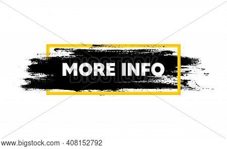 More Info Symbol. Paint Brush Stroke In Box Frame. Navigation Sign. Read Description. Paint Brush In