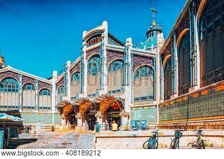 Historical Point Of Valencia - Modernist Mercat Central Market,