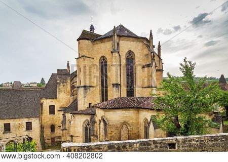 Sarlat Cathedral Is A Roman Catholic Church And Former Cathedral Located In Sarlat-la-caneda, France