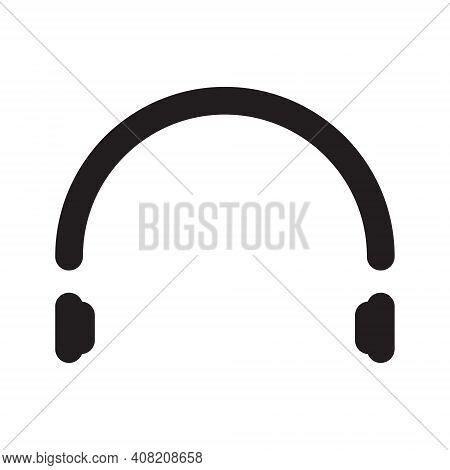 Headphone Icon . Headphone Icon Vector. Headphone Icon Isolated On White Background. Headphone Icon