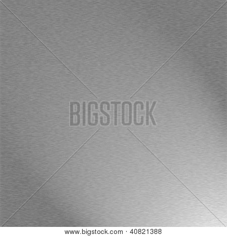 Homogeneous Metal Background Texture In Gray Color