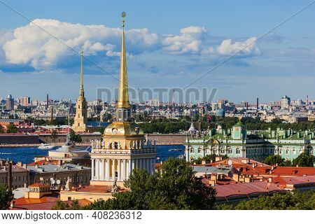 View from Saint Isaac Cathedral - Saint-Petersburg Russia