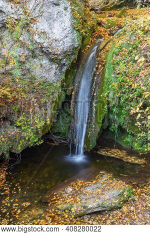 Hajsky waterfall, Slovak Paradise, Slovakia